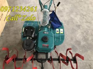 [FREE SHIP TẠI HÀ NỘI] Máy Xới Đất Mini Đa Năng Turbo 173 Chạy Dầu
