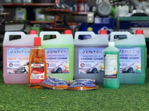 Dung dịch rửa và chăm sóc xe tại Đà Lạt