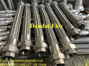 Ống mềm cho đường ống nhà máy nhiệt điện, khớp nối mềm inox, ống mềm inox