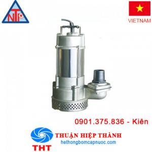Máy bơm chìm hút nước thải Inox NTP SSM250-1.37 265
