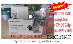 Camera quan sát thân hikvision 2.0megapixel