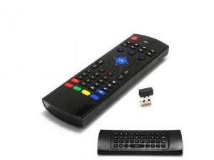 Bàn phím chuột bay MX3 là chuột bay điều khiển TiVi từ xa tiện lợi:Tặng kèm pin