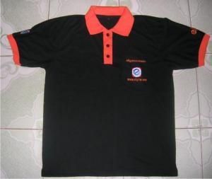 May áo đồng phục, áo in logo theo yêu cầu