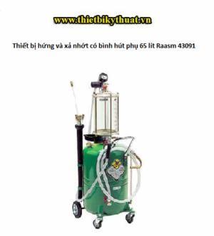 Thiết bị hứng và xả nhớt có bình hút phụ 65 lít Raasm 43091