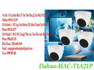 Bộ dome camera @HUA DH-HACT1A21P giá rẻ