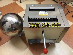 Máy vo viên mật,máy vo viên thuốc đông y DZ40 19mm 6Gram