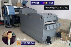 Máy in PET chuyển nhiệt tự động kỹ thuật số
