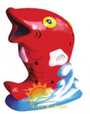 Chuyên bán thùng rác hình con vật đáng yêu cho trường học, công viên, TTTM