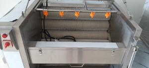 Máy rửa củ cải khoai lang, máy rửa củ khoai tây chà vỏ QX608