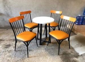 Xưởng bàn ghế mỹ nghệ Cafe, nhà hàng,mẫu mã đẹp, kiểu dáng mầu sắc đa màu Nội Thất Quang Đại