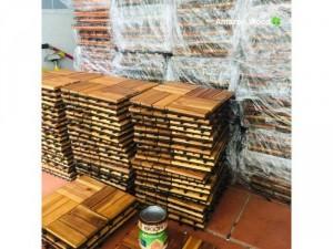 Chuyên sỉ lẽ vỉ sàn gỗ tự nhiên đà nẵng