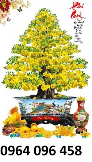 Tranh cây mai vàng - 09VB