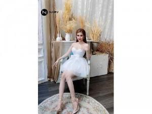 Đầm váy nữ xòe công chúa babydoll 3mauSC