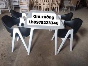 Bộ bàn ghế cafe giá tốt tại xưởng sản xuất..