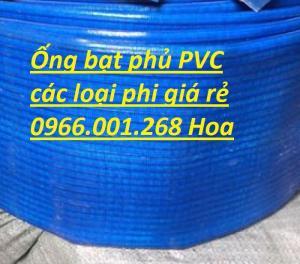 Ống bạt cốt dù phủ nhựa , ống bạt xanh xả bùn D50,D65,D80,D100,D150,D200,D220