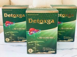Detoxga - Thanh nhiệt, giải độc, hỗ trợ tăng cường chức năng gan