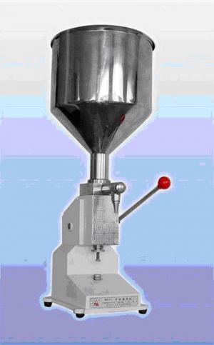 Máy chiết rót kem đặc thủ công A03, máy chiết rót sữa chua, máy chiết rót dịch sệt