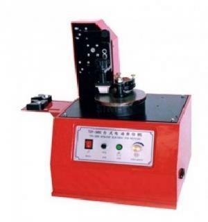 Máy in date mâm xoay, máy in hạn sử dung lên hủ nhựa tuýp nhựa nắp chai
