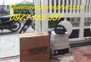 Cổng trượt Roger R30 - 230V - 1200kg, motor cổng trượt tự động Roger R30-230V