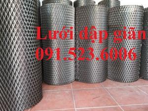 Lưới dập giãn hình thoi, lưới kéo giãn giá tốt tại Hà Nội