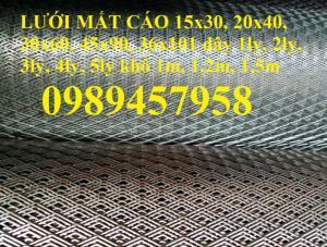 Lưới mắt cáo 20x40, lưới hình thoi 30x60, 45x90, 36x101