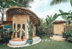 Những mẫu nhà bungalow, homestay bằng tre