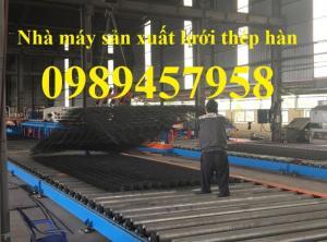 Sản xuất Lưới thép hàn cường độ cao D4, D5, D6, D8, D10, D12 mới 100%