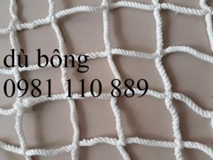 Lưới dù trắng ,lưới an toàn và trang trí