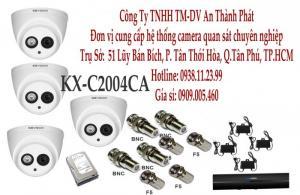 Bộ 4 KX-C2004Ca có ghi âm độ phân giải 2.MP