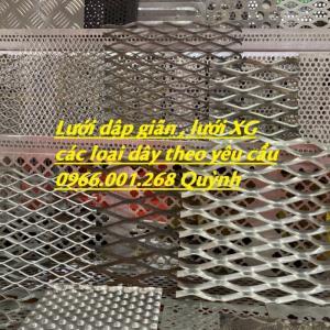 Lưới trám, lưới dập giãn, lưới hình thoi,lươi XG dây 1ly,2ly,3ly,4ly các loại
