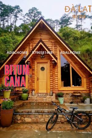 Ngói bitum CANA tổ ong Dark Brown - ngói dán phủ đá tại Đà Lạt
