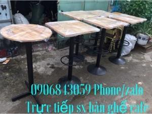 Ghế gỗ bar giá tại xưởng