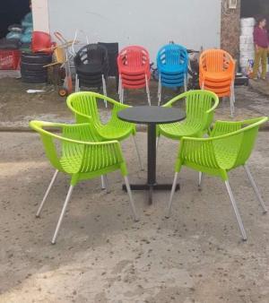 Chuyên sản xuất, gia công theo yêu cầu khách hàng - Bàn ghế, ô dù dùng cho cá