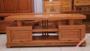 Kệ tivi gỗ đinh hương kiểu Nhật 1m4 – 1m6 – 1m8