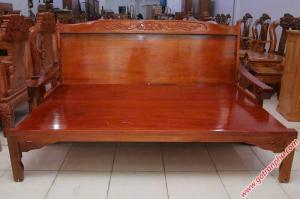 Ghế trường kỷ gỗ quỷnh 1m – 1m2 – 1m4