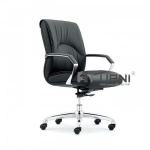Ghế văn phòng dành cho nhân viên lưng trung nệm dày CE4409-P