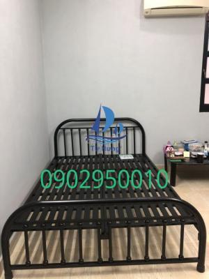 Giường sắt Bi 1m4x2m giường sắt đôi đẹp