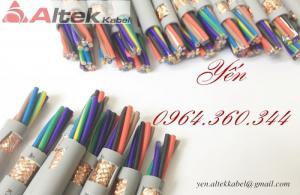 [Cập nhật] Bảng giá mới Cáp điều khiển, cáp tín hiệu Altek kabel