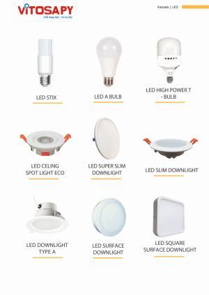Vitosa Phú Yên Tuyển đại lý phân phối sản phẩm đèn led kanada lighting