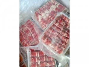 Ba chỉ Bò Mỹ có sẵn tại sthi ha anh bịch 500gr