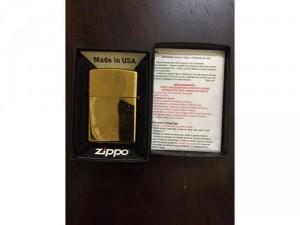 Zippo Gold