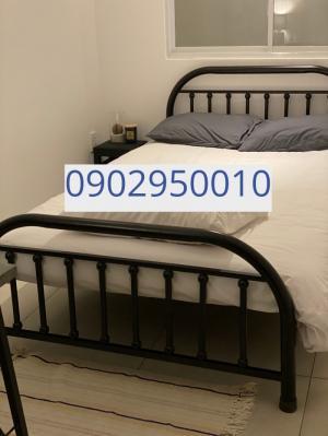 Giường sắt Bi 1m2x2m