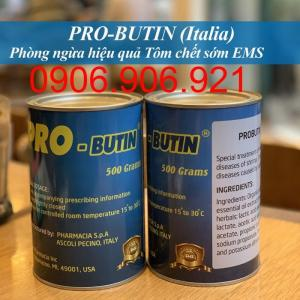 PRO-BUTIN (Ý) Phòng bệnh gan tụy cấp EMS, đường ruột cho tôm trong 30 ngày đầ