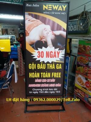 Các mẫu standee siêu bền, giá rẻ tại Hà Nội