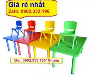 Chuyên cung cấp bàn ghế nhựa mẫu giáo