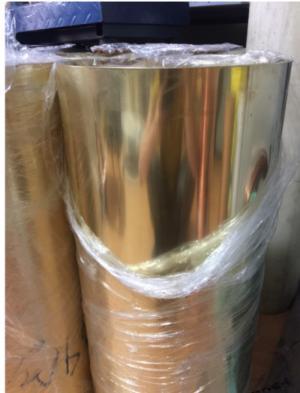 Đồng tấm lá vàng dày 0.5mmx600x500mm