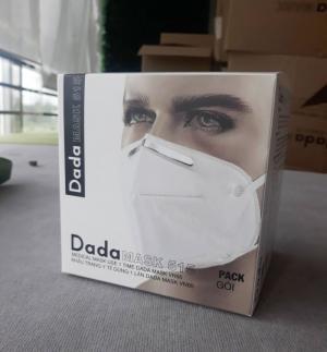 Khẩu trang y tế DaDa Mask VN95 515 – Hộp 5 cái màu xám không van