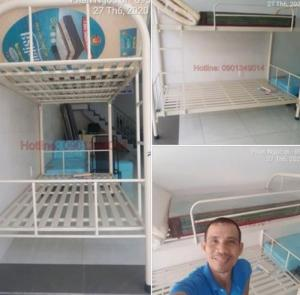 Giường Tầng Sắt Giá Rẻ Tại Bình Tân TPHCM