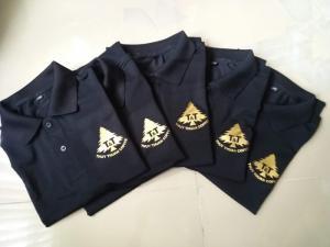 Áo đồng phục quán phở áo đồng phục cổ trụ áo đồng phục có cổ