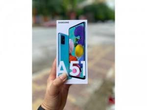 Cần bán Samsung A51 new bh chính hãng 1 năm